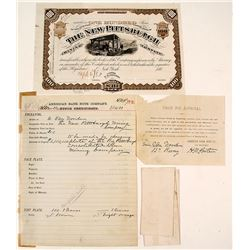 Unique ABN Proof, New Pittsburgh Mining Co. Stock