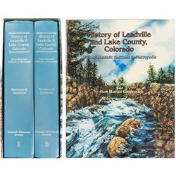 History of Leadville & Lake County CO by Griswold
