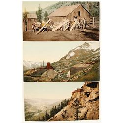 Colorado Mining Photographs by WH Jackson