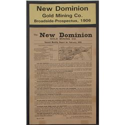 New Dominion Gold Mining Co. Prospectus