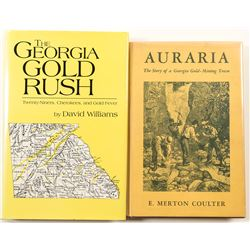 Georgia Gold Rush Books (2)