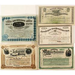 Idaho Mining Stock Collection