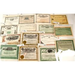 Montana Mining Stock Certificate Collection (15)