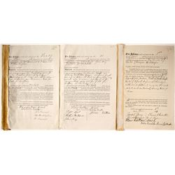 Mining Rights Sold to Manhattan Silver Mining Indentures (3)