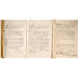 Mining Rights Sold to Manhattan Silver Mining Indentures (3)