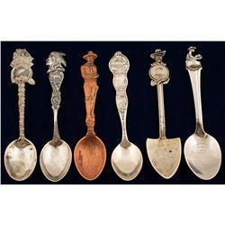 Nevada Souvenir Spoons (6)