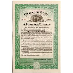 Comstock Tunnel & Drainage Company $1000 Bond