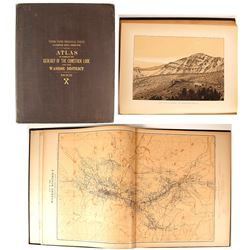 Comstock Atlas and Monograph, 1882