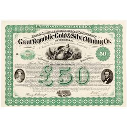 Great Republic Gold & Silver Mining Company Bond