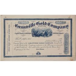 Granville Gold Company of New York Specimen Proof