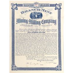 Branch Mint Mining and Milling Company Bond