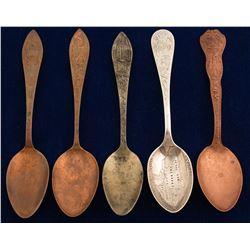 Utah Mining Spoons