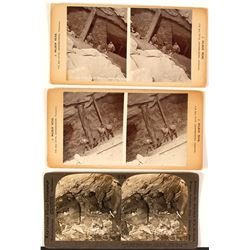 Three South Africa Mining Stereoviews