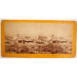 Yellow Jacket Mine Stereoview