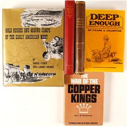 Western Mining Hardcovers (5)