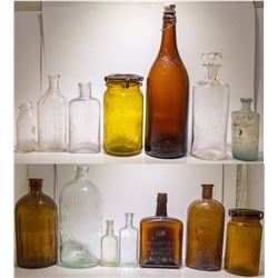 Historical Bottles from Dahlonega Region