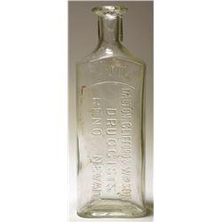 Dalton, Clifford & Wilson Co. Druggists Bottle (Reno, Nevada)
