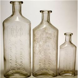 Large Sized McCullough Drug Bottles (Reno, Nevada)