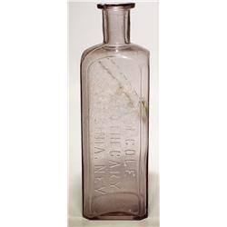 A. M. Cole Apothecary Bottle (Virginia City, Nevada)