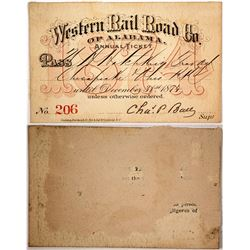Western Rail Road Co. of Alabama Pass, 1874