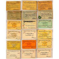 Missouri, Kansas & Texas Railway Co. Pass Collection