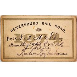 Petersburg Railroad Pass, 1874