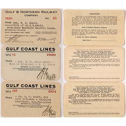 Gulf Coast Railroad Passes