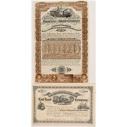 Two Marietta Railroad: Stock and Bond