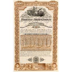 Marietta and North Georgia Railway Company Gold Bond