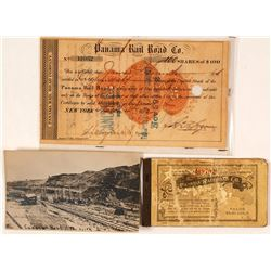 Panama Railroad Company Ephemera