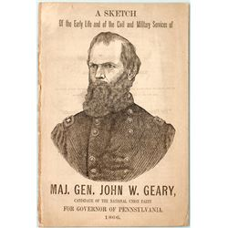 Sketch of the Life of General John W. Geary