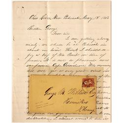 Ohio River Civil War Letter with Great Content