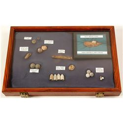 Civil War Artifacts Display