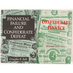 Confederate Finance Books (2)