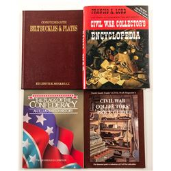 Civil War Collector's Books (4)