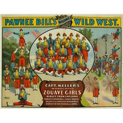 Pawnee Bill's Historic Wild West Poster