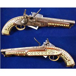 Fake East India Flintlock Pistol