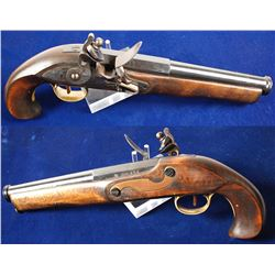 replica Kentucky flintlock pistol