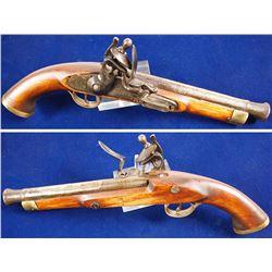 non-firing flintlock blunderbuss pistol