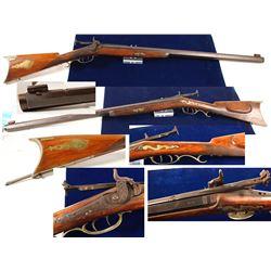 .42 cal. Alvan Pratt Percussion target rifle