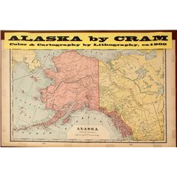 Map of Alaska by Cram
