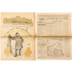 Alaska Gold Rush Newspaper Reprints (2)