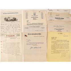 J.S. Cain Business Letters (Mostly Mining)