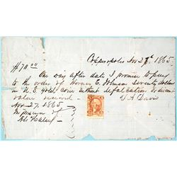 Copperopolis One Day Promissory Note, Payable in GOLD