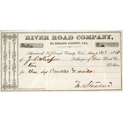 River Road Company Tollkeeper Payment to the County