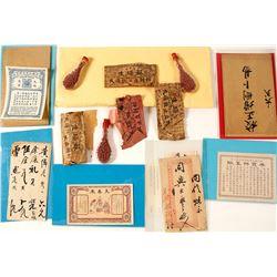 Chinese Artifacts and Ephemera from Locke
