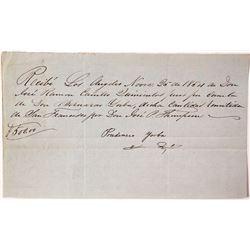 Spanish 1854 Note