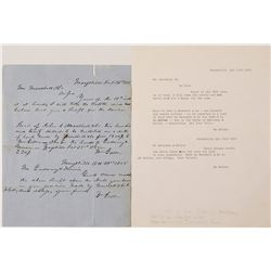 1855 Letter to John C. Marshall from WIlliam Geller