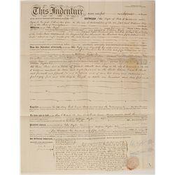 John Bigler 1856 Mortgage for Sacramento Property