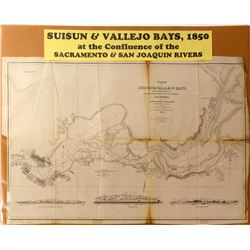 Map of Suisun & Vallejo Bays